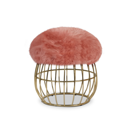 Andy Stool with pink ship skin
