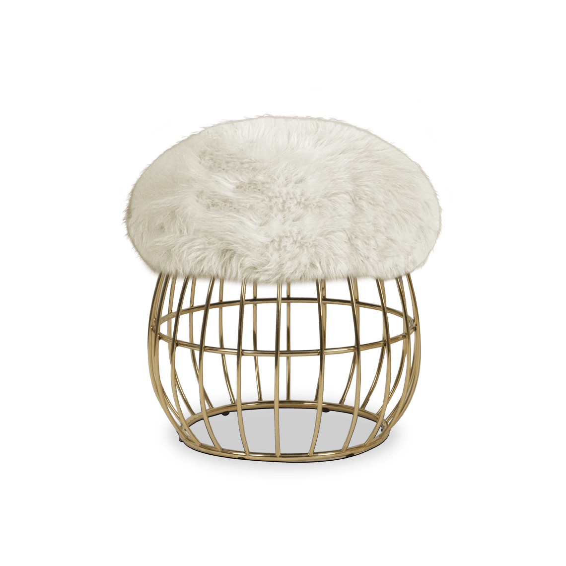 Andy Stool with white ship skin