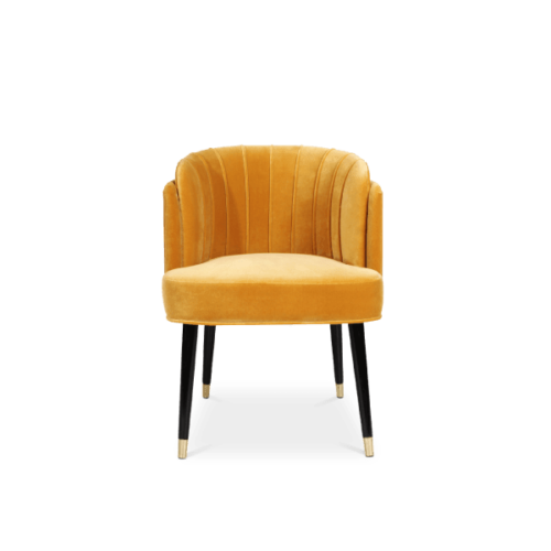 Anita Dining Chair egg Yellow