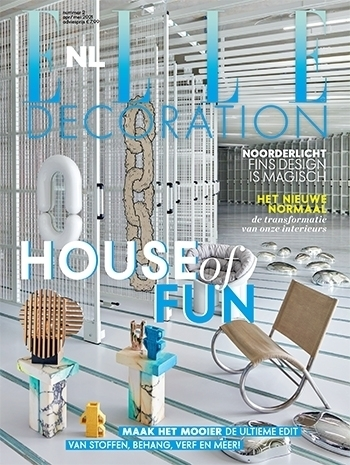 Beth Stool at Elle Decoration NL March 2021