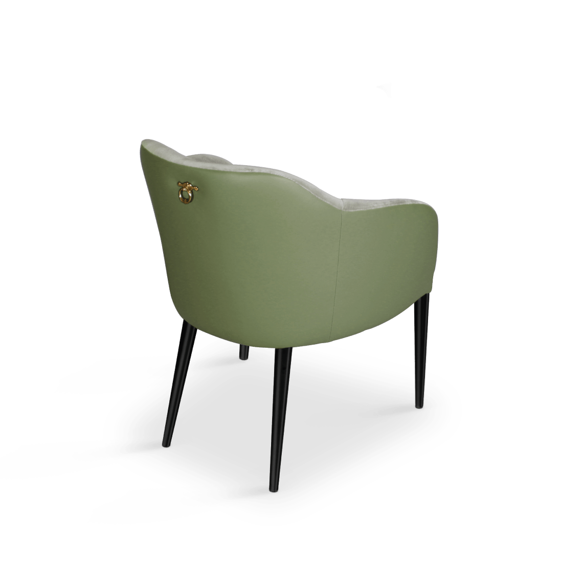 Joan Modern Dining Chair in Green