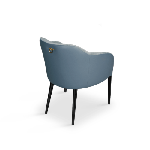 Joan Modern Dining Chair in Blue
