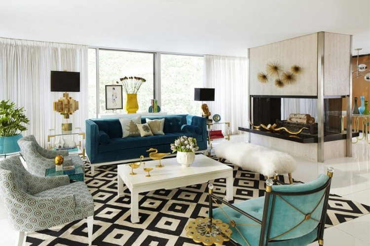 21 Best Interior Design Projects By, Jonathan Adler Furniture