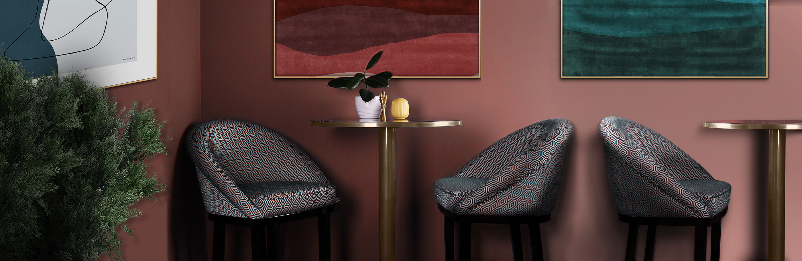 Kim Bar Chair in Bar ambience