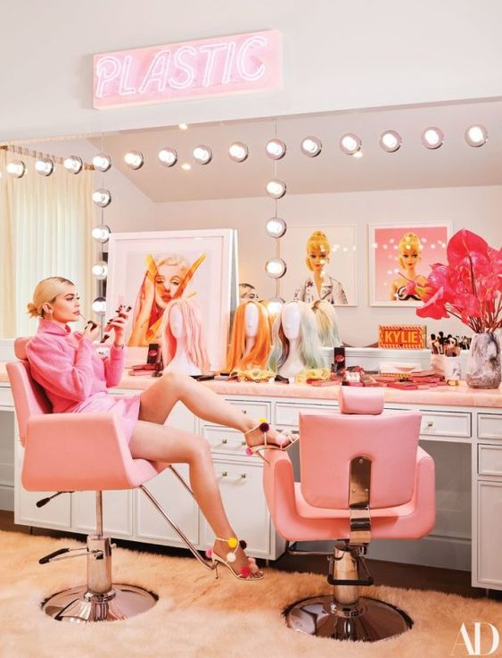 Kylie Jenner Glam Room by Martyn Lawrence Bullard