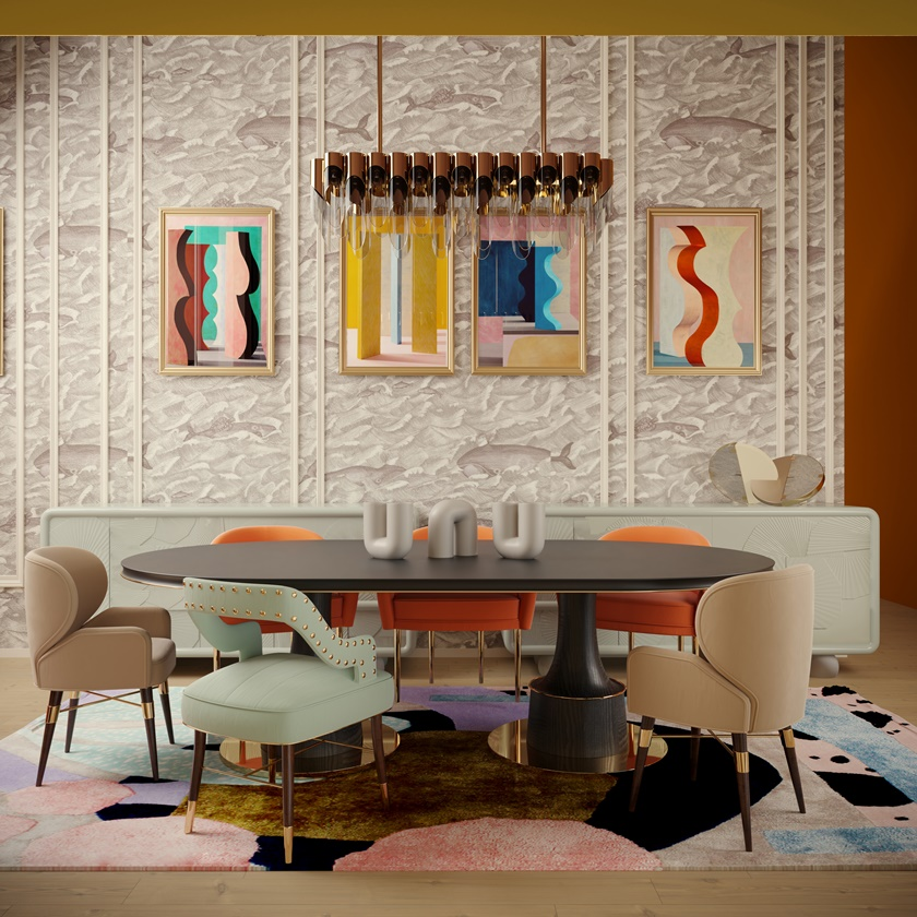 Louis Kelly Dining Chairs 1