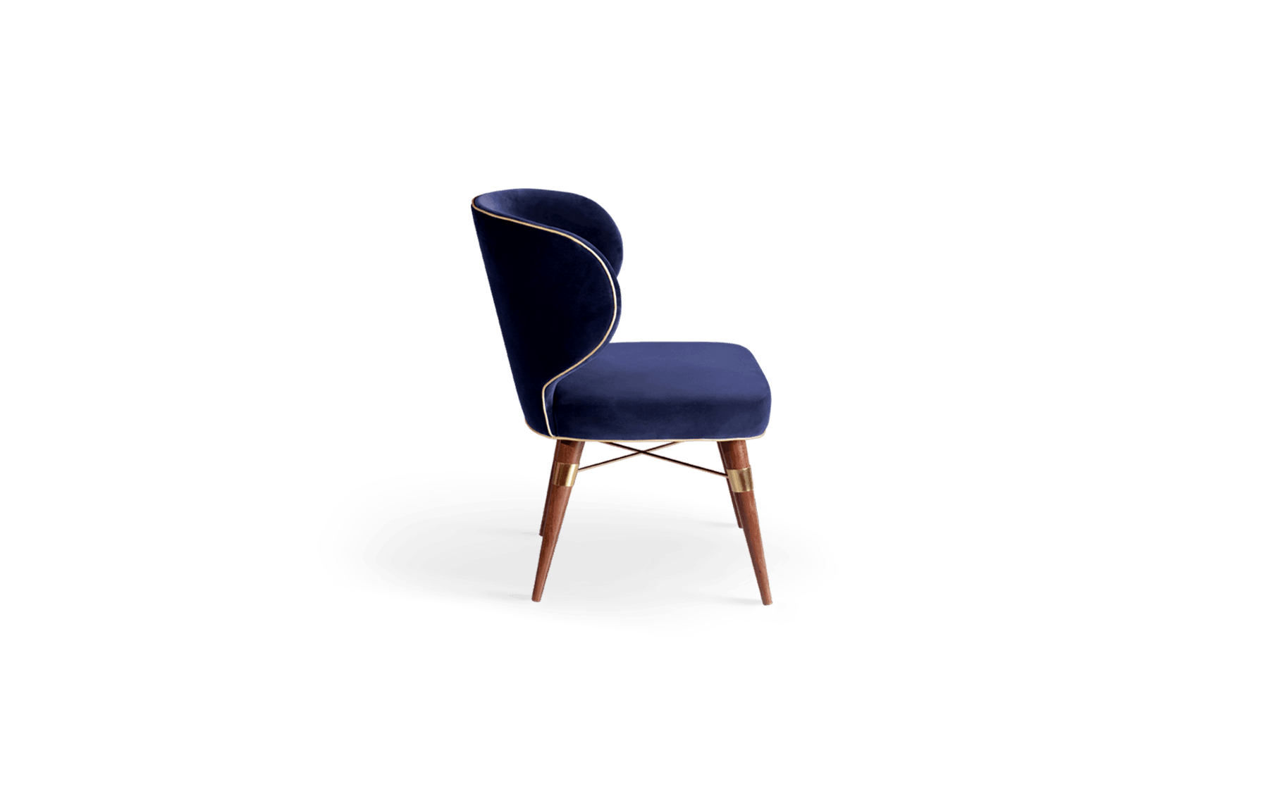 Louis Mid Century Dining Chair By Ottiu Beyond Upholstery