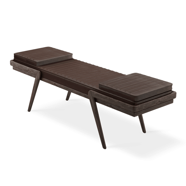Milton bench by Wood Tailors Club