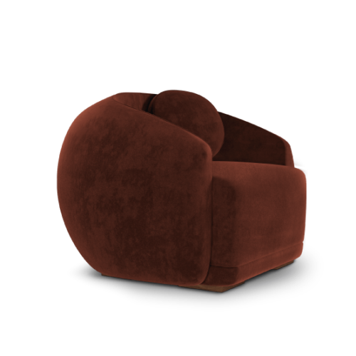 Curved Peggy Armchair