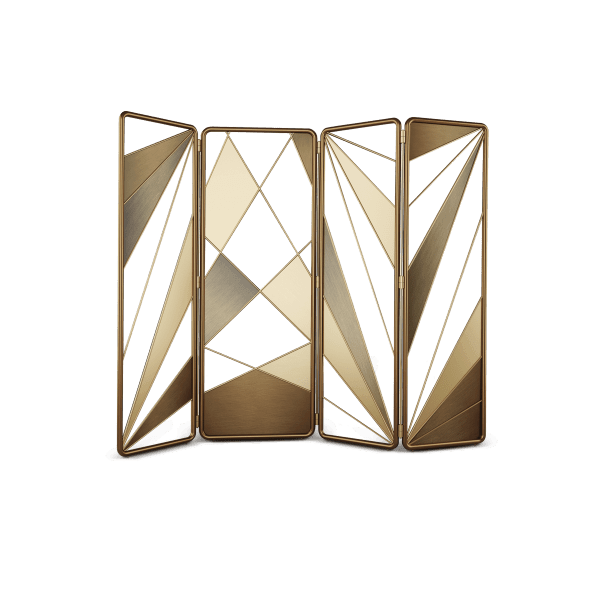 Seattral Folding Screen by Porus Studio