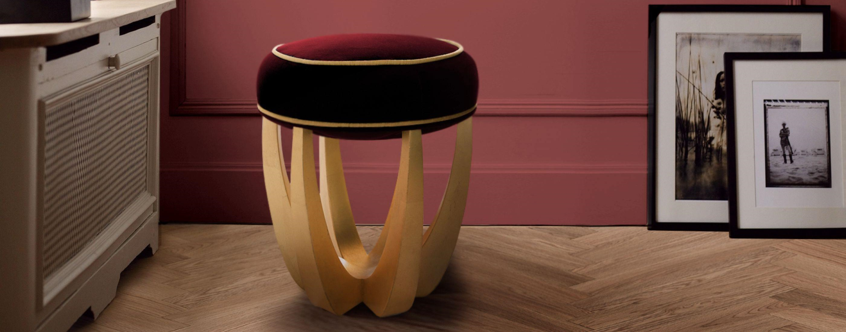 Betty Stool in Living Room