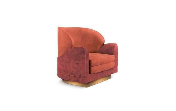 armchair-living-coral-living-room-decor