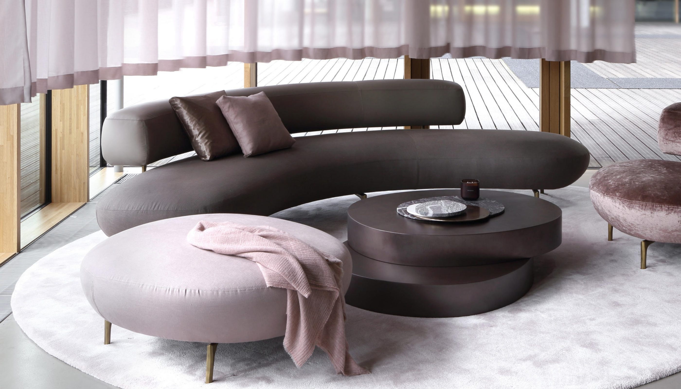 Curved Sofas You'll Love - Ella Sofa by Piet Boon