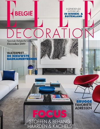 Elle Decoration Belgium featuring Andy Bar Stool