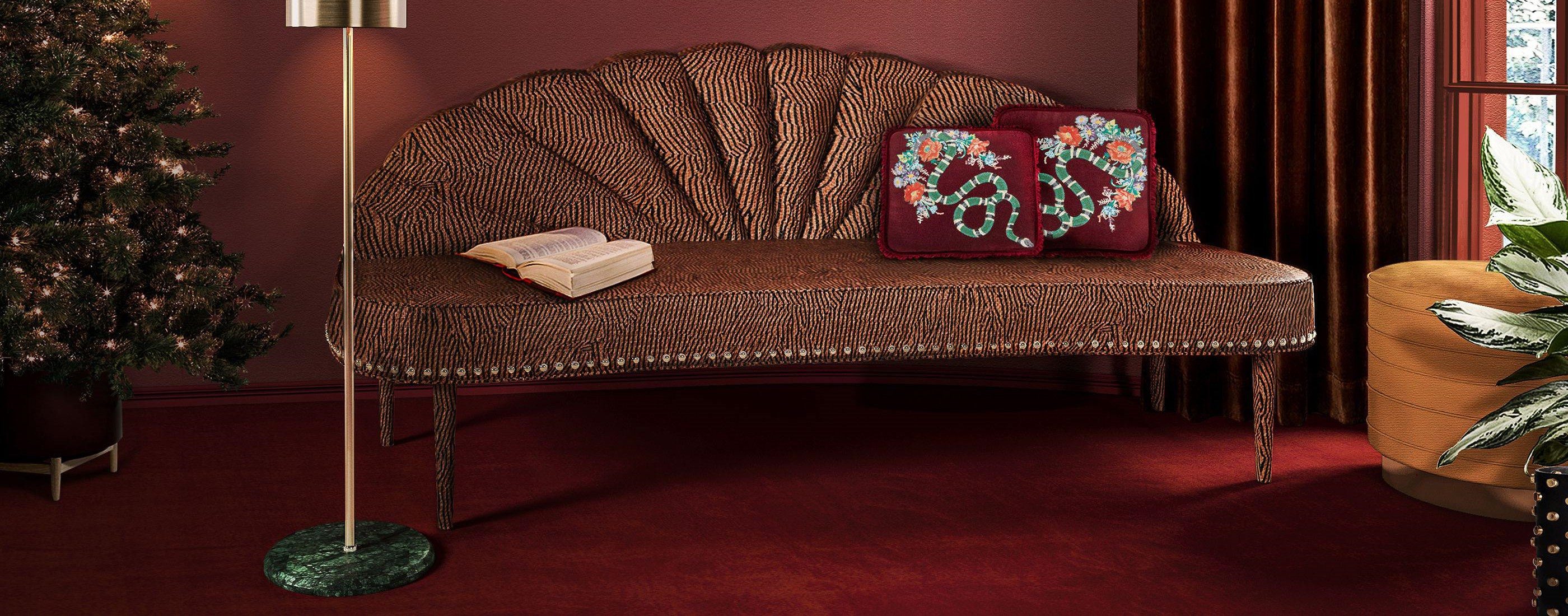 Farrah sofa with Charisse Stool