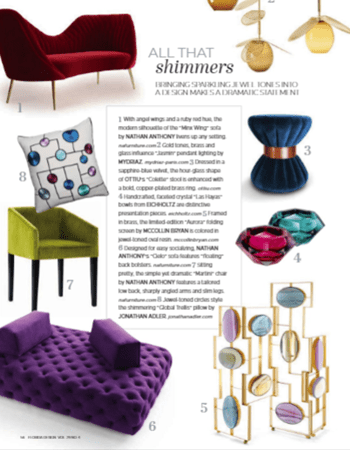 Florida Design Magazine - Colette Stool