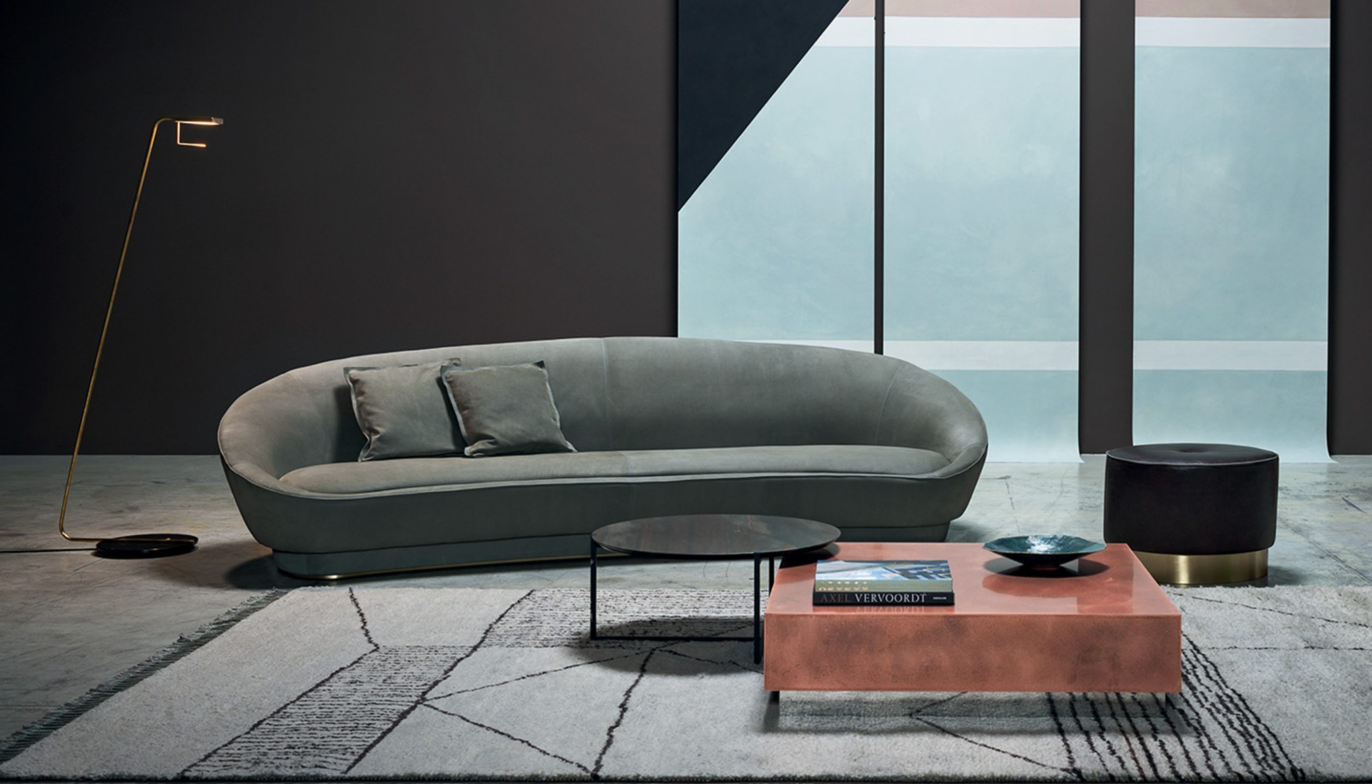 Curved Sofas You'll Love - Janette Sofa by Baxter