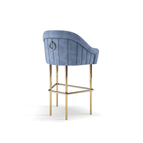 Katharina Mid-Century Modern Bar Chair