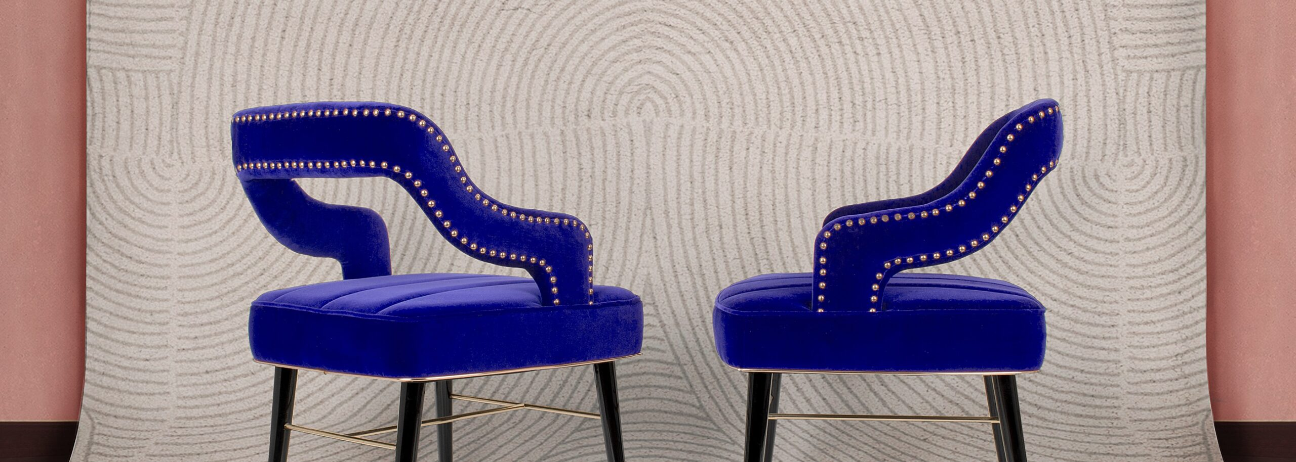 Kelly Dining Chair in Classic Blue