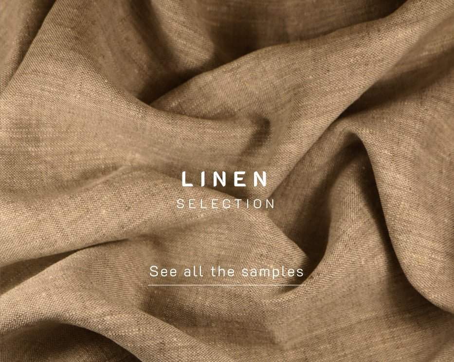 customize with linen finishes