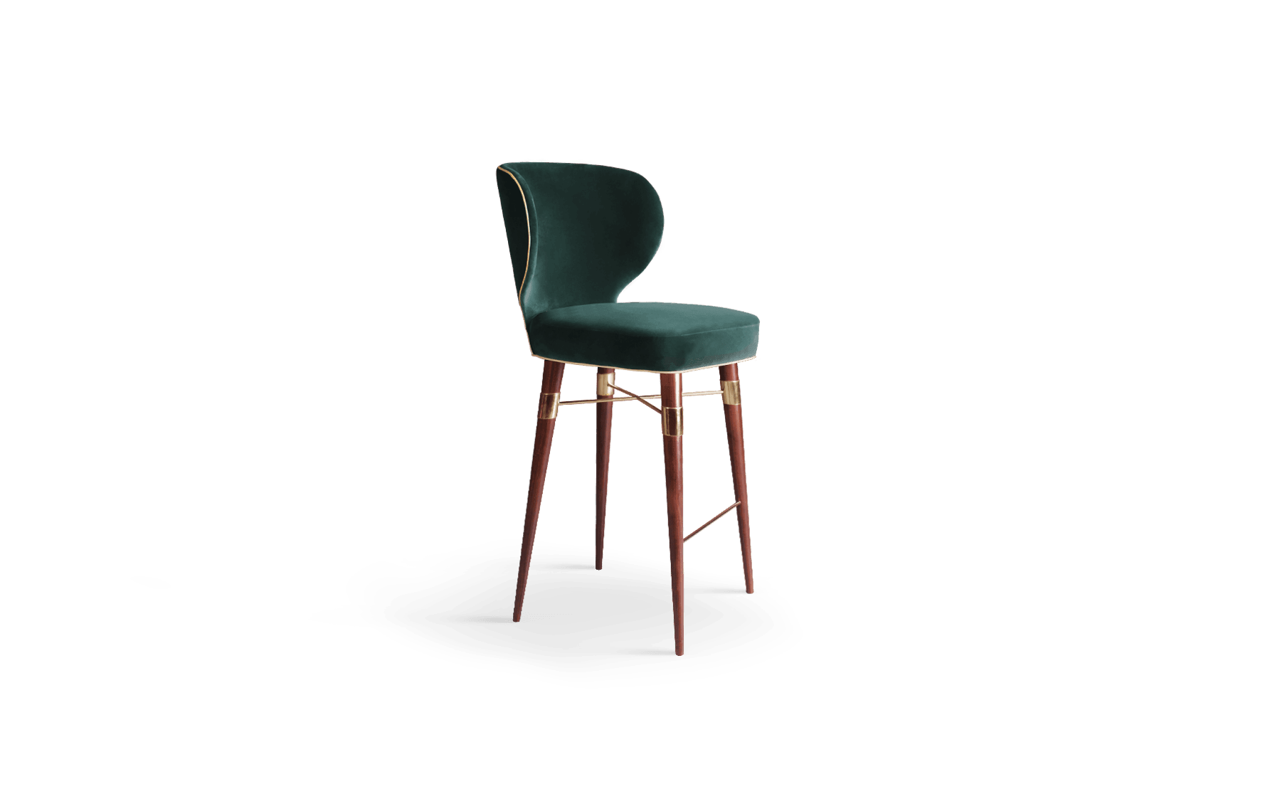 Louis Mid-Century Bar Chair by Ottiu | Beyond Upholstery