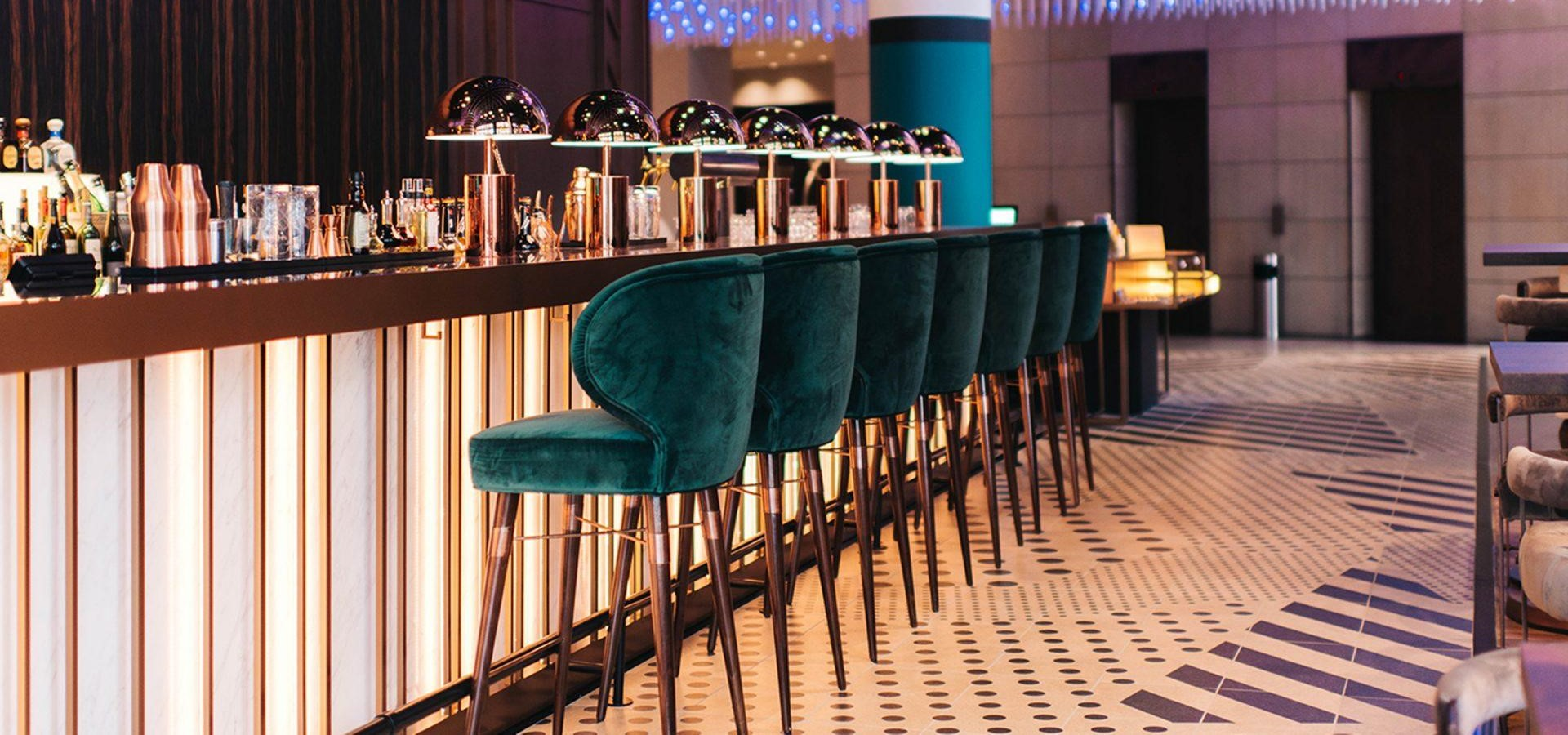 Louis Bar Chair at Pullman Hotel
