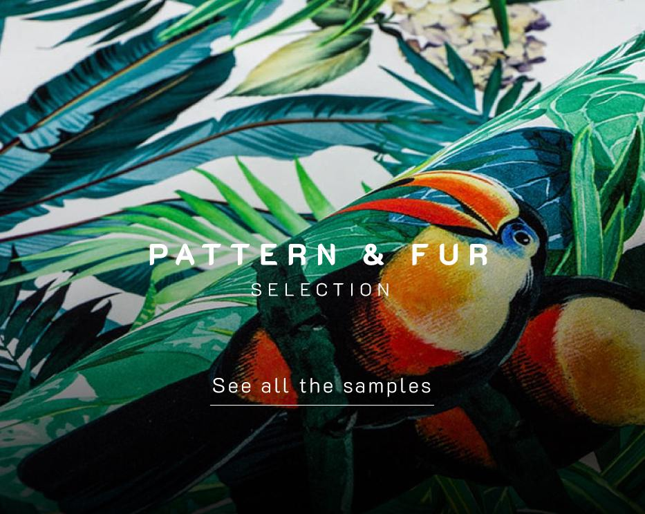 Pattern & Fur selection by Ottiu | Beyond Upholstery - Luxury Chairs, Armchairs an sofas