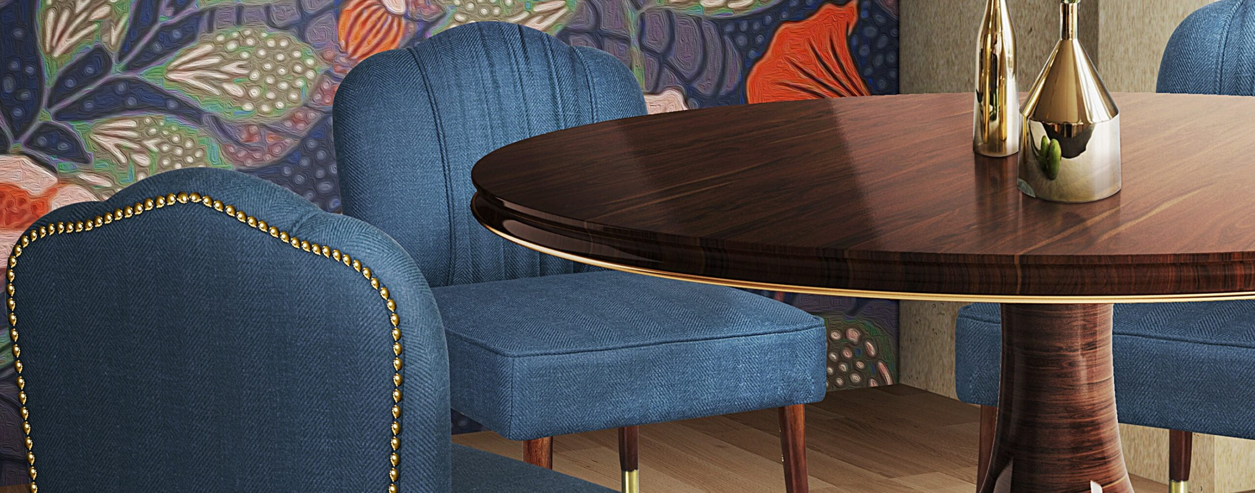 Simone Dining Chair in Dining Room ambience