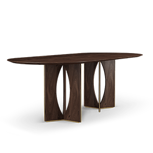 Tailor Dining Table by Wood Tailors Club