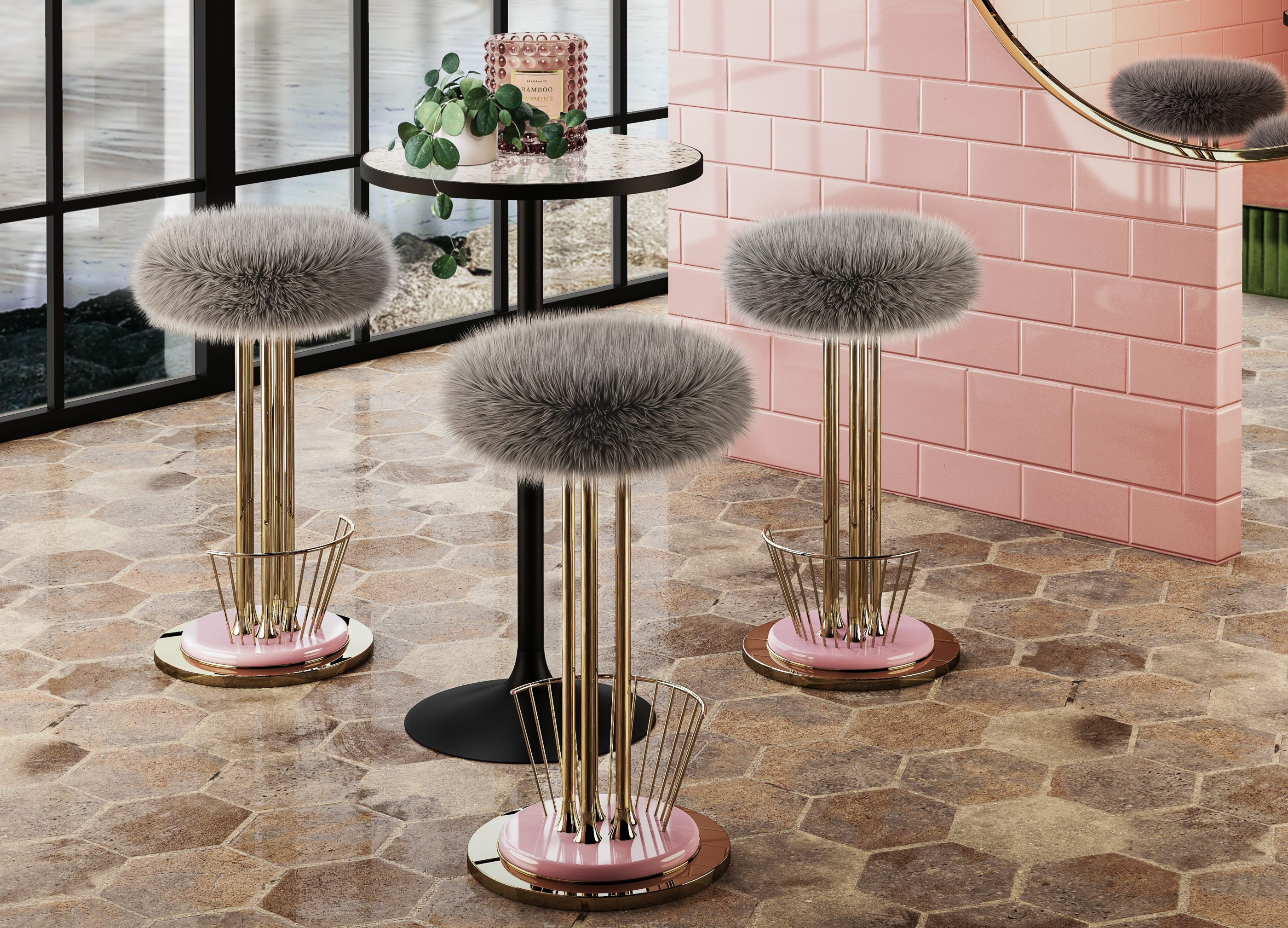 10 Timeless Bar Stools - Andy Bar Stool