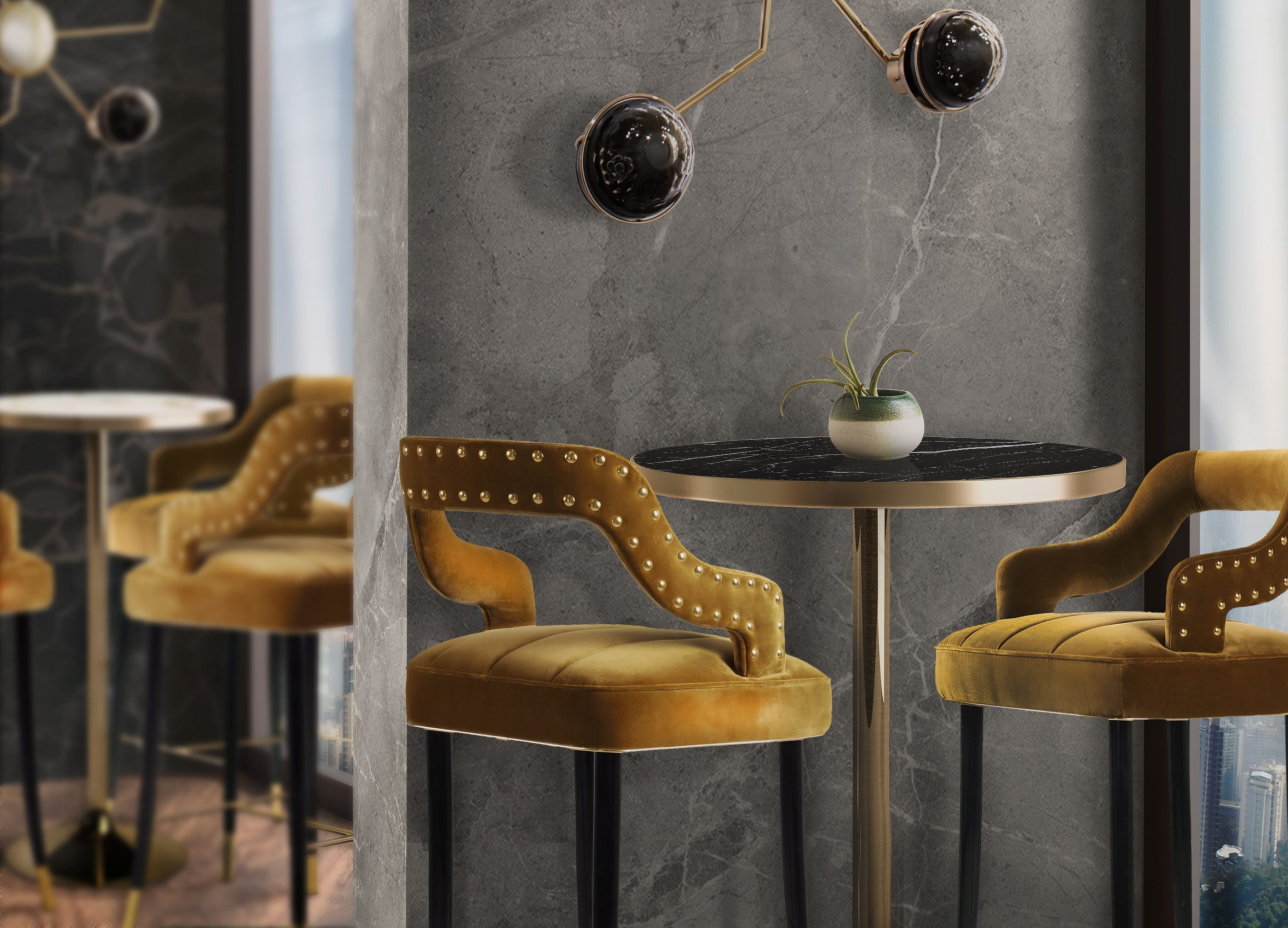 10 Timeless Bar Stools - Kelly Bar Chair