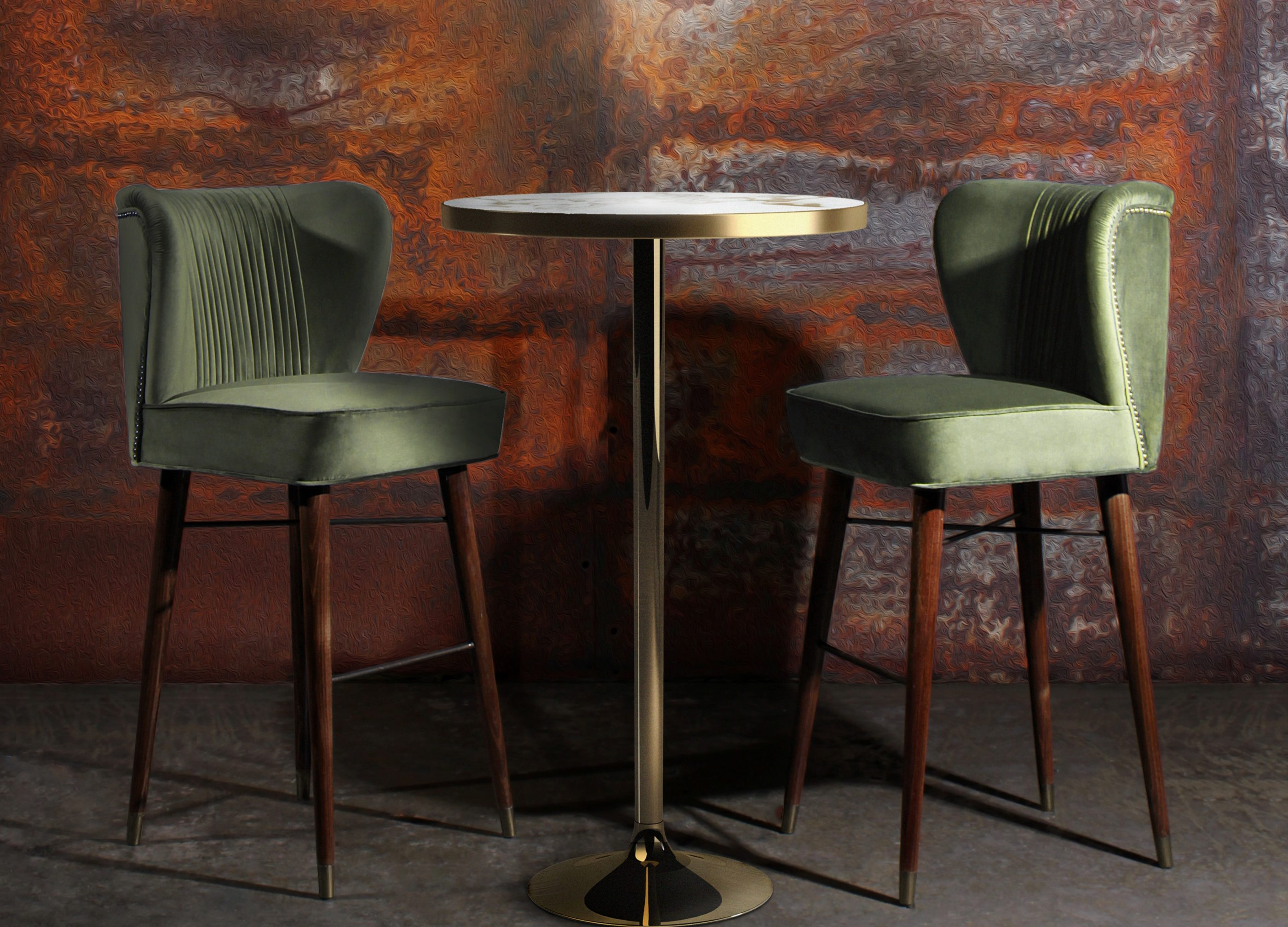 10 Timeless Bar Stools - Visconti Bar Chair