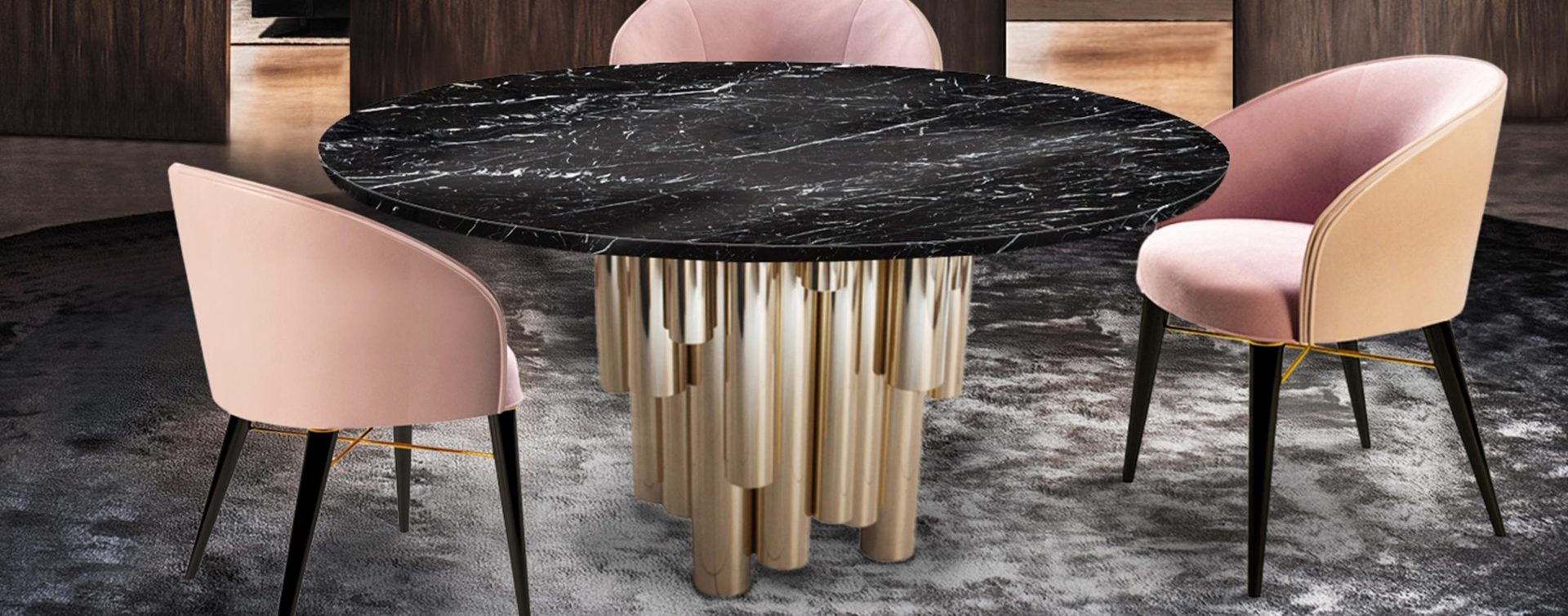 Velvet Chairs That Never Go Out Of Style - Ingrid Dining Chair