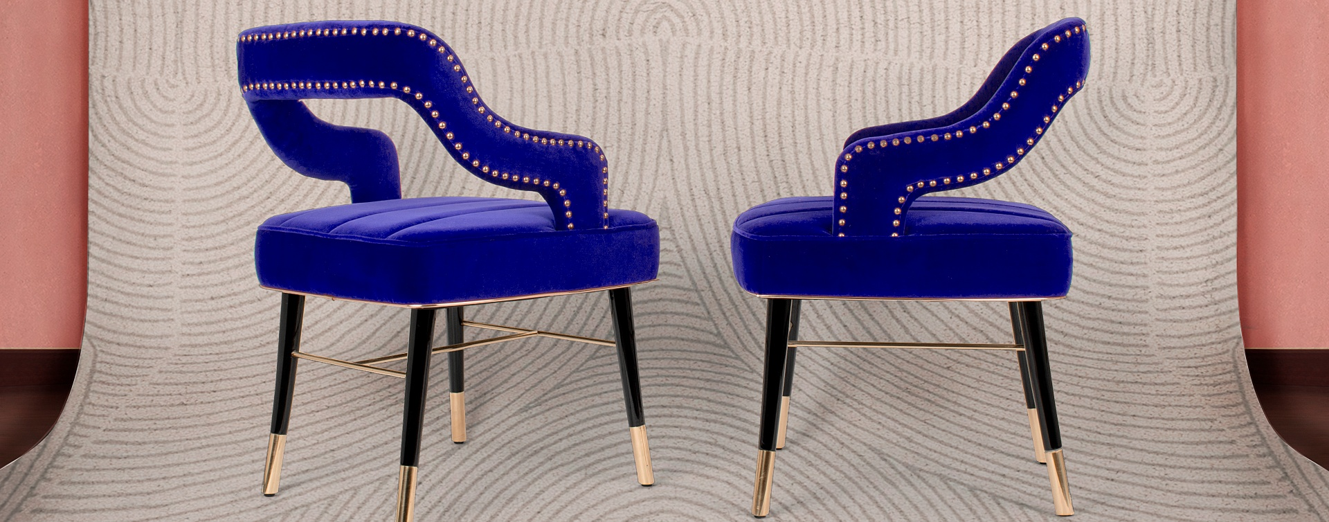 Velvet Chairs That Never Go Out Of Style - Kelly Dining Chair