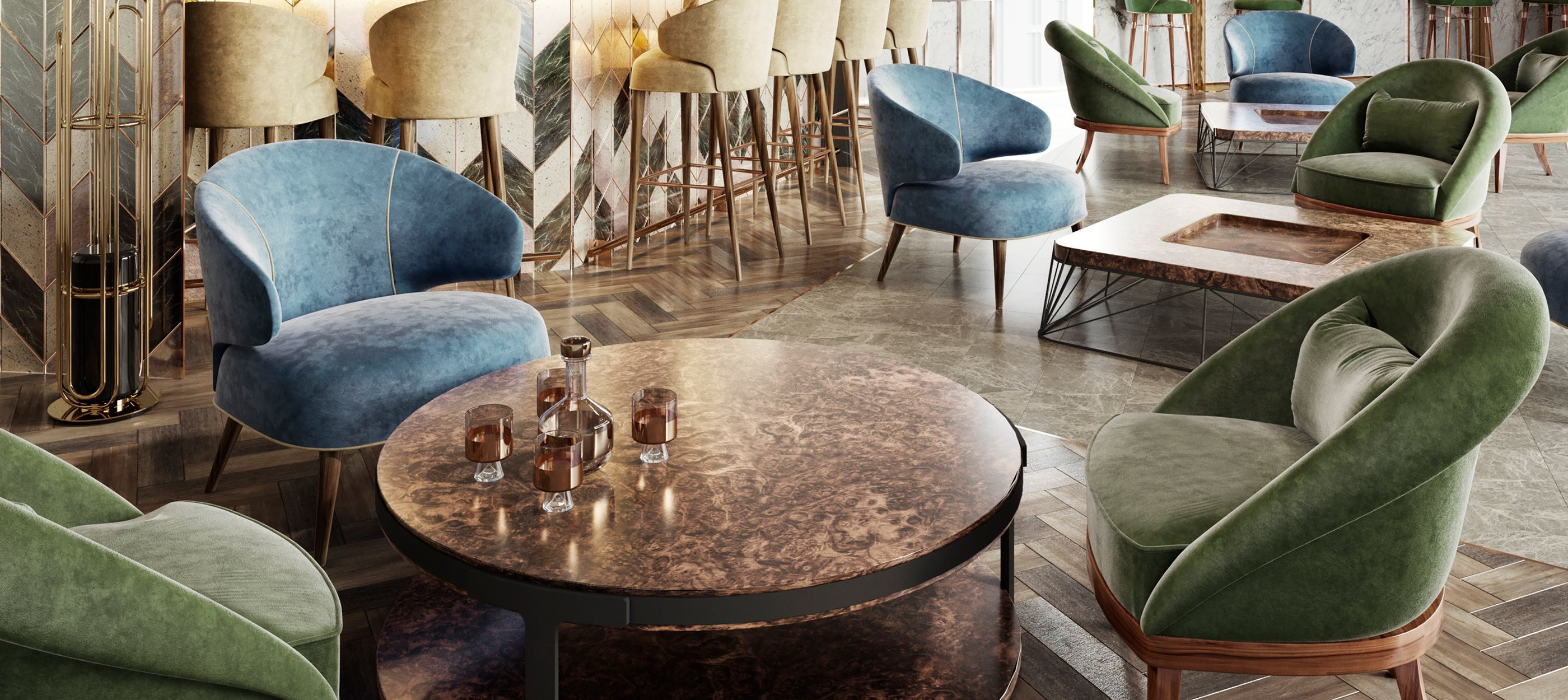 Velvet Chairs That Never Go Out Of Style - Tippi Armchair