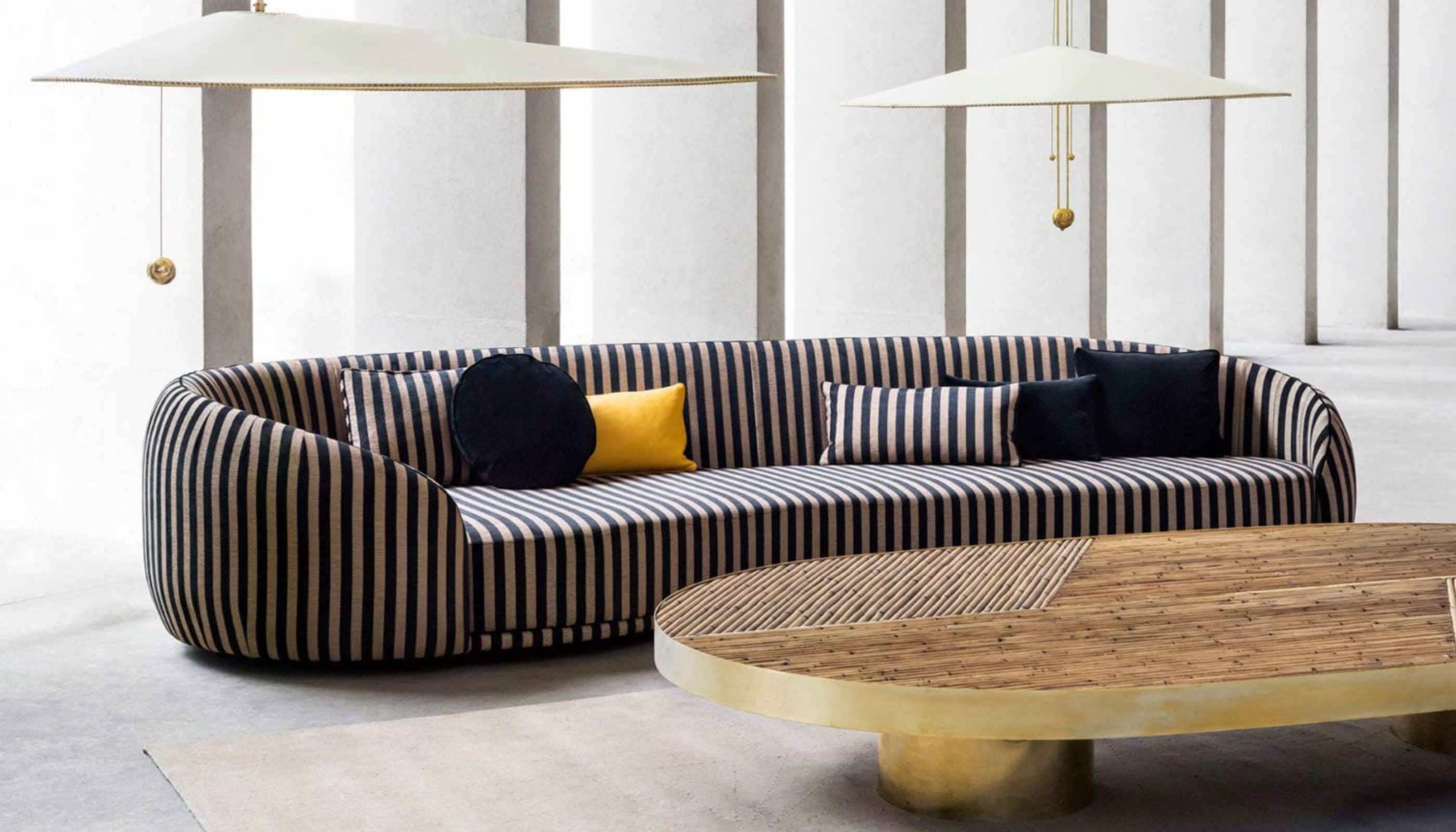 Curved Sofas You'll Love - Welcome! Collection Sofa by CHIARA ANDREATTI FOR FENDI